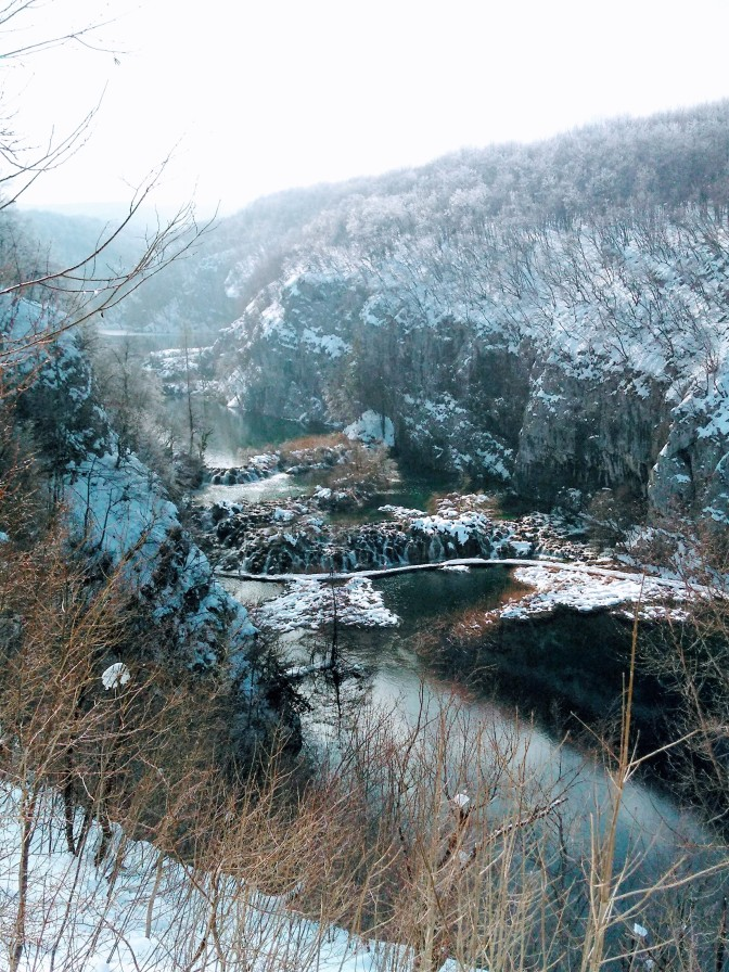 Plitvice, Croatia: Winter is coming… winter came!