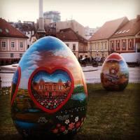 "Zagreb: ""Naive"" Easter Eggs"